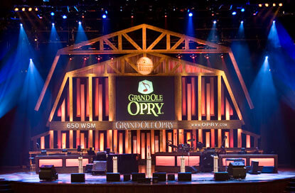 Nashville-Grand Ole Opry Source: Visitmusiccity.com