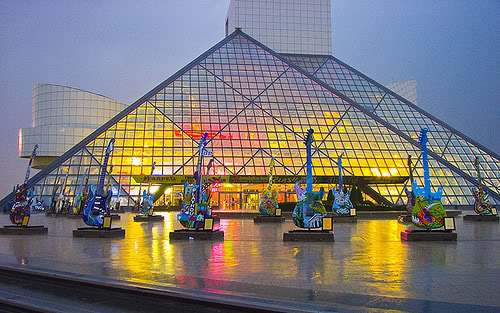 Rock and Roll Hall of Fame, Ohio Source: Whosurmuse.com