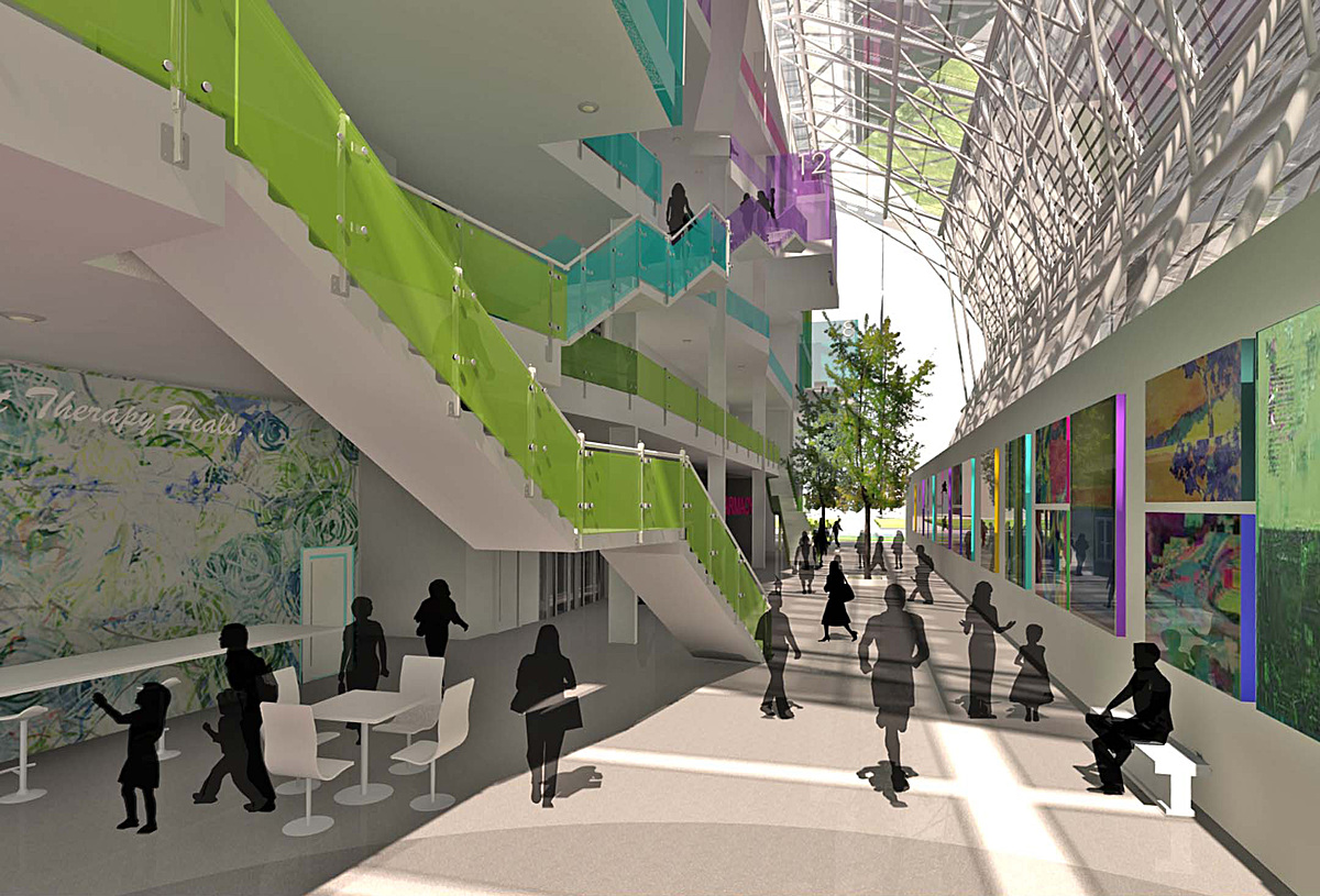 Art therapy center Source: www.cdn.archinect.com